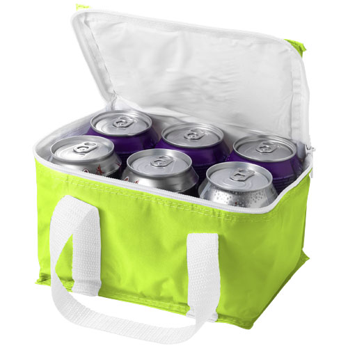 Malmo 6-can cooler bag in apple-green