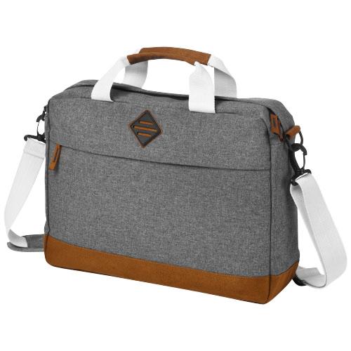 Echo 15.6'' laptop and tablet conference bag in grey-melange