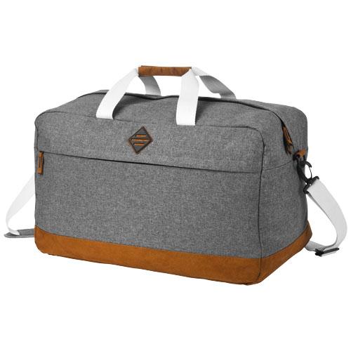 Echo small travel duffel bag in grey-melange