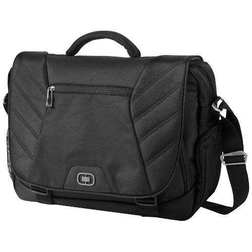 Elgin 17'' laptop conference bag in black-solid