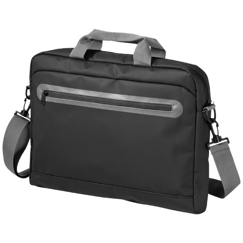 North sea conference bag in black-solid-and-grey