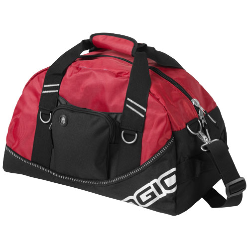 Half-dome duffel bag in red