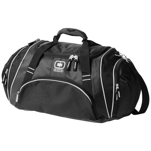 Crunch duffel bag in black-solid