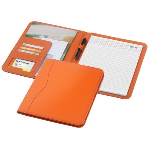Ebony A4 portfolio in orange