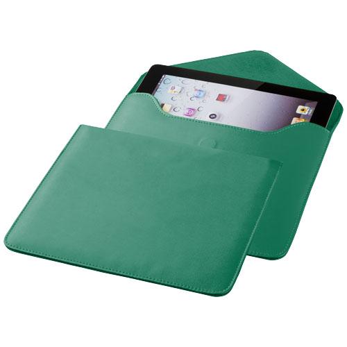 Boulevard tablet sleeve in green