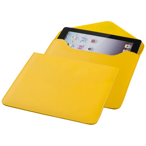 Boulevard tablet sleeve in yellow