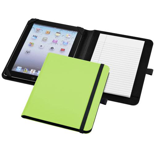 Verve tablet portfolio in green