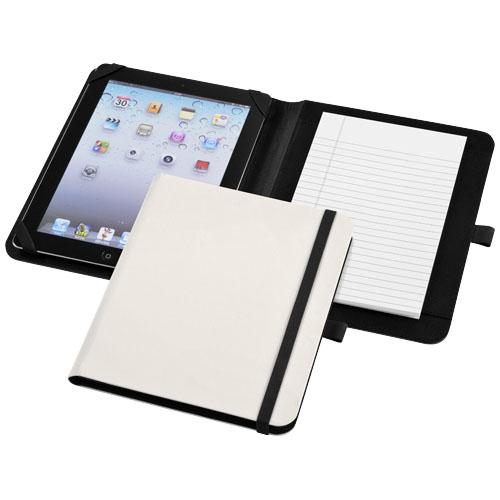 Verve tablet portfolio in white-solid