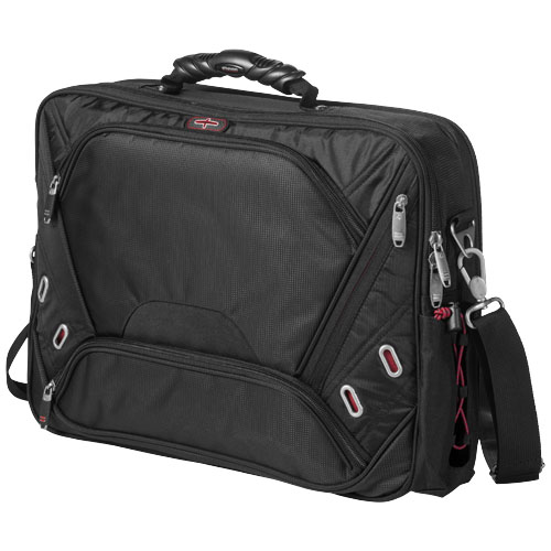 Proton checkpoint friendly 17'' computer attaché in black-solid