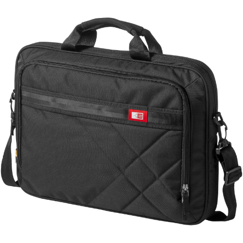 Quinn 17'' laptop and tablet case in black-solid