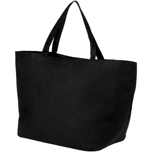 Maryville non-woven shopping tote bag in white-solid