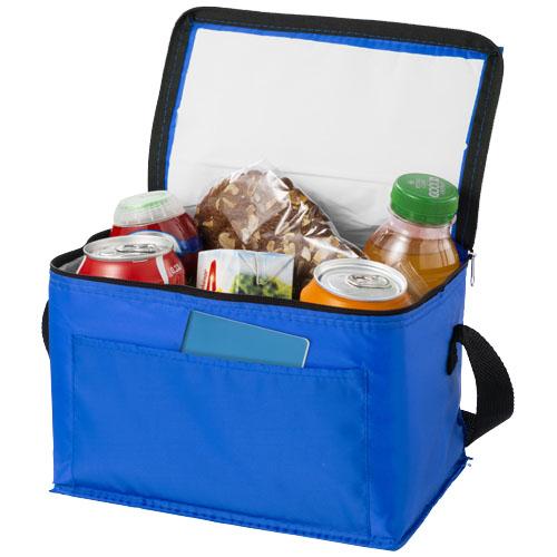 Kumla slash pocket lunch cooler bag in blue