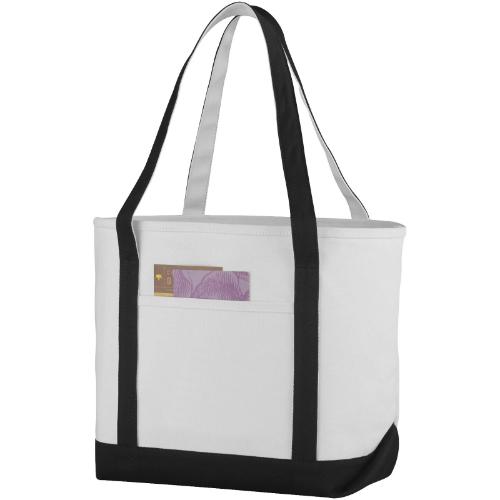 Premium heavy-weight 610 g/m² cotton tote bag in orange