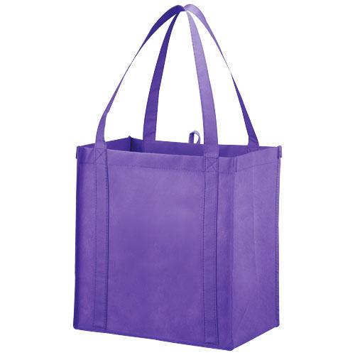 Juno small bottom board non-woven tote bag in lavender