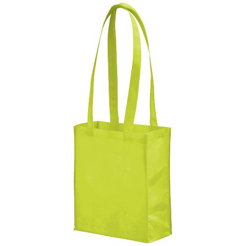 Mini Elm non-woven tote bag in lime