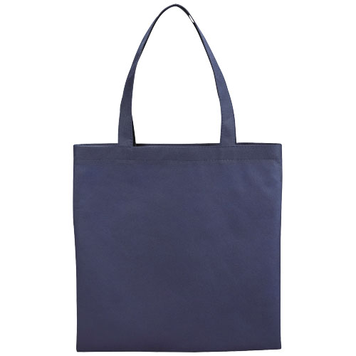 Zeus small non-woven convention tote bag in navy