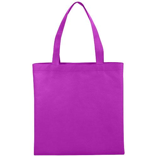 Zeus small non-woven convention tote bag in purple