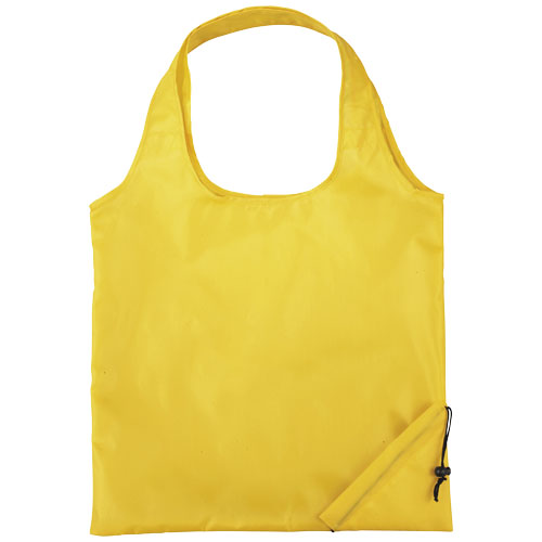 Bungalow foldable tote bag in yellow