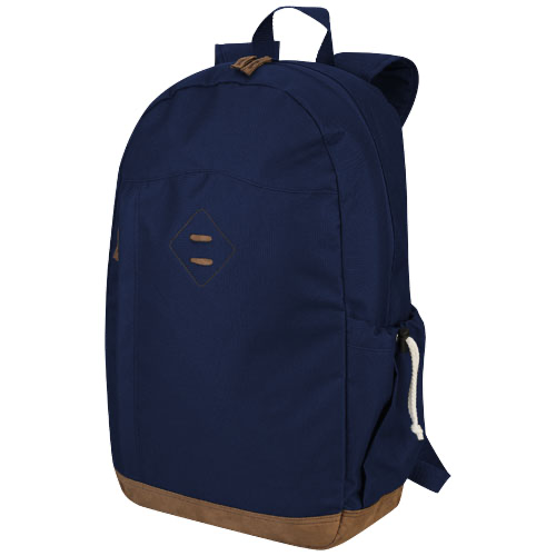 Chester 15.6'' laptop backpack in navy