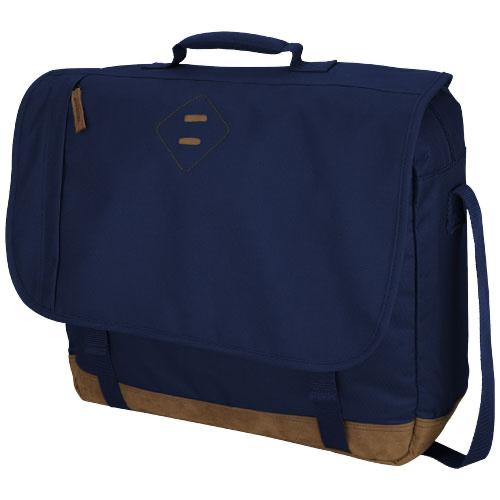 Chester 15.4'' laptop messenger bag in navy
