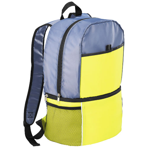 Sea-isle insulated cooler backpack in lime