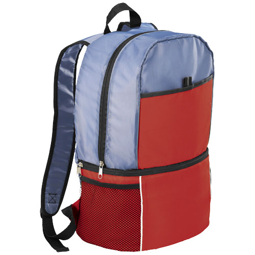 Sea-isle insulated cooler backpack in red