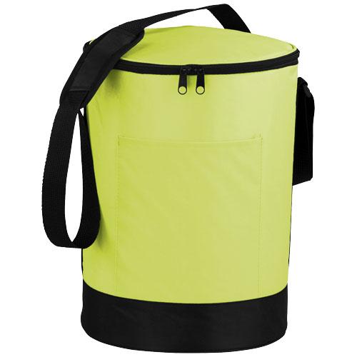 Bucco barrel cooler bag in lime