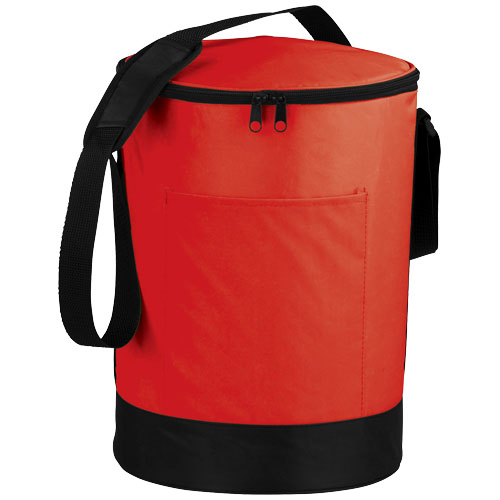 Bucco barrel cooler bag in red