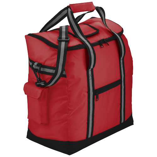 Beach-side event cooler bag in red