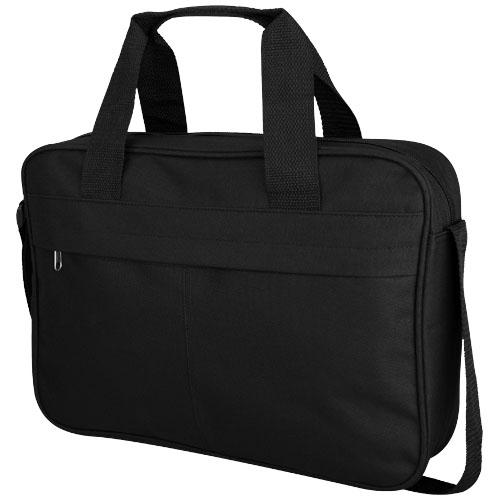 Regina conference bag in black-solid