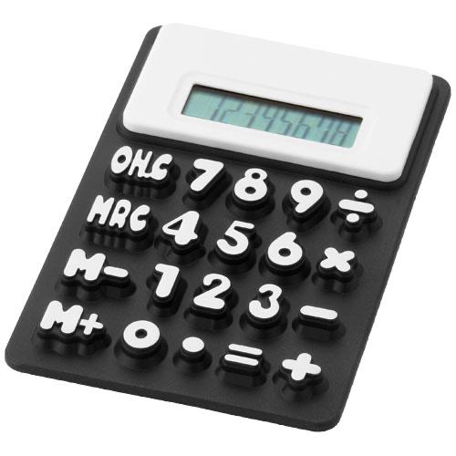 Splitz flexible calculator in white-solid