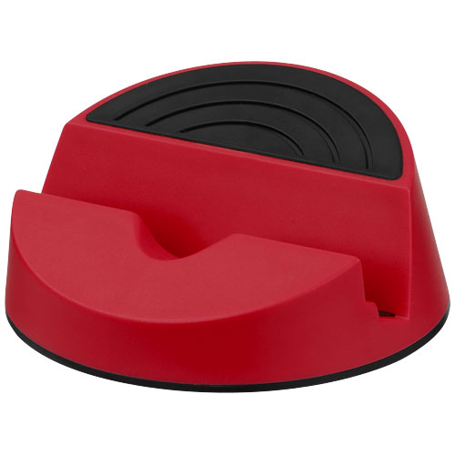 Orso smartphone and tablet stand in red