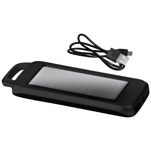 SC1500 Solar charger gift set in black-solid