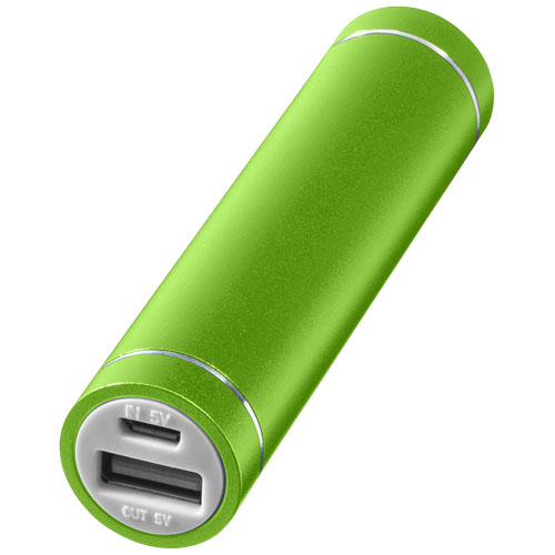 Bolt alu power bank 2200mAh in lime