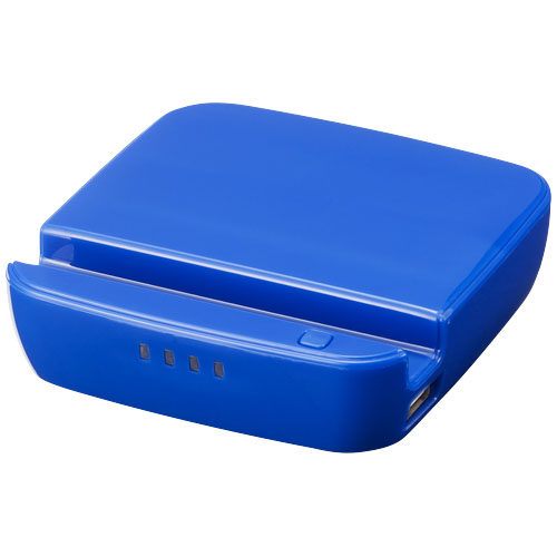 Forza power bank and smartphone stand 2200mAh in royal-blue