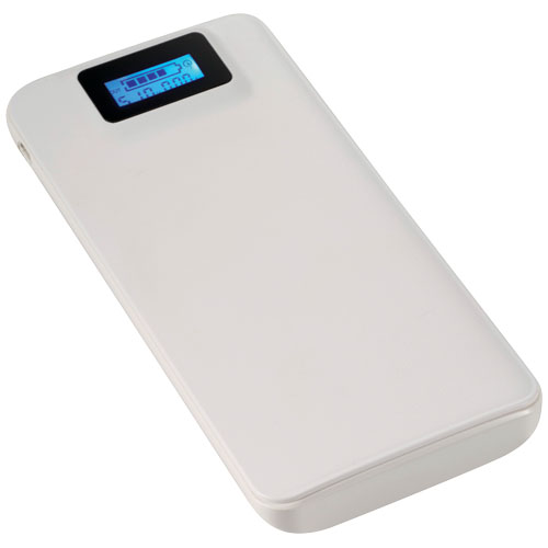 PB-6000 Cheetah Power bank with Quick Charging in white-solid