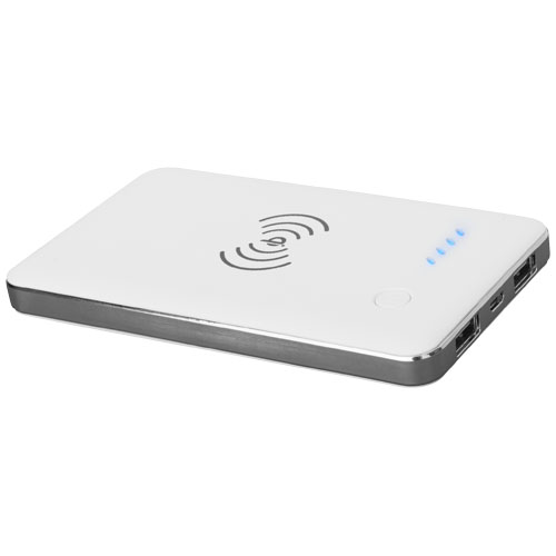 PB-4000 Qi® Wireless Power bank in white-solid