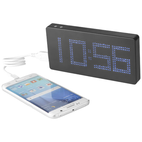 PB-8000 LED Display Power bank with Clock in