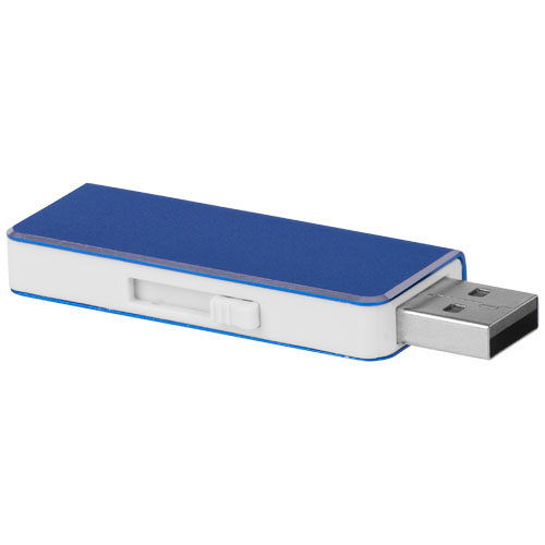 Glide 8GB USB flash drive in royal-blue