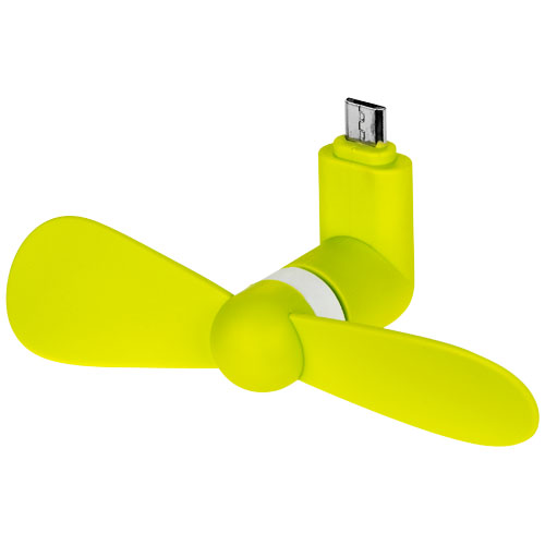 Airing micro USB fan in lime