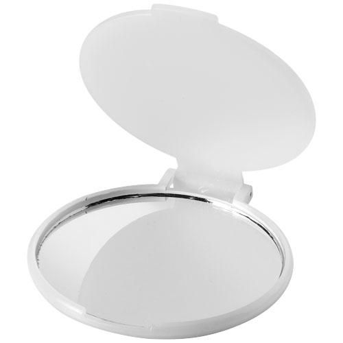 Carmen glamour mirror in transparent-white