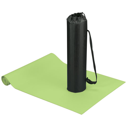 Cobra fitness and yoga mat in lime