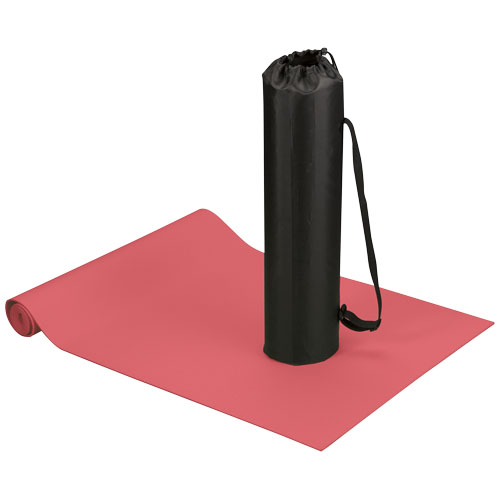Cobra fitness and yoga mat in red