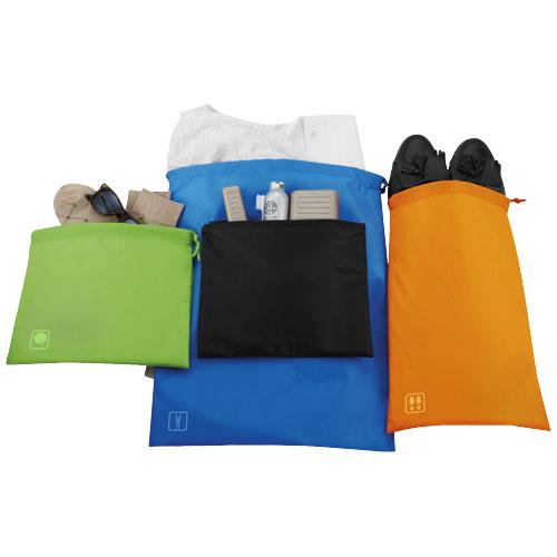 Atlanta travel set of go clean bags in multi-colou