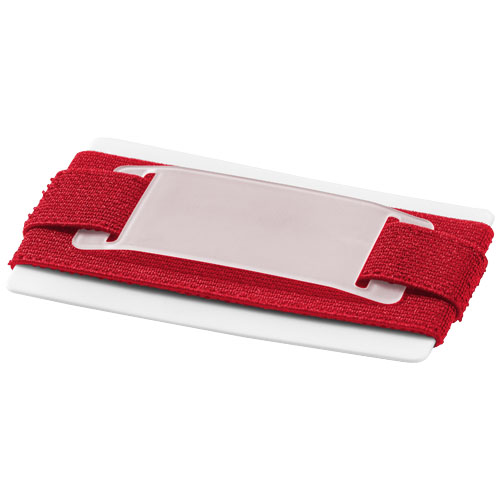 Alicante slim wallet in red