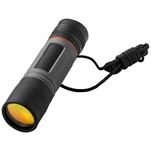 Kain 10 x 25 monocular in grey-and-black-solid