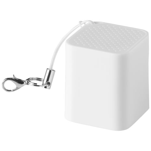 Timbre Bluetooth® Speaker and camera shutter in white-solid