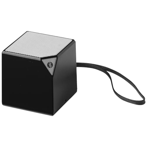 Sonic Bluetooth® portable speaker in white-solid