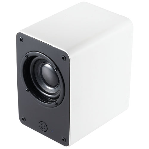 Classic Bluetooth® vintage-looking speaker in white-solid
