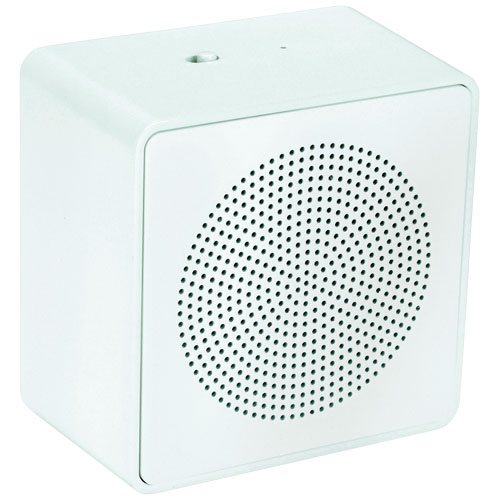 Whammo Bluetooth® Speaker in white-solid